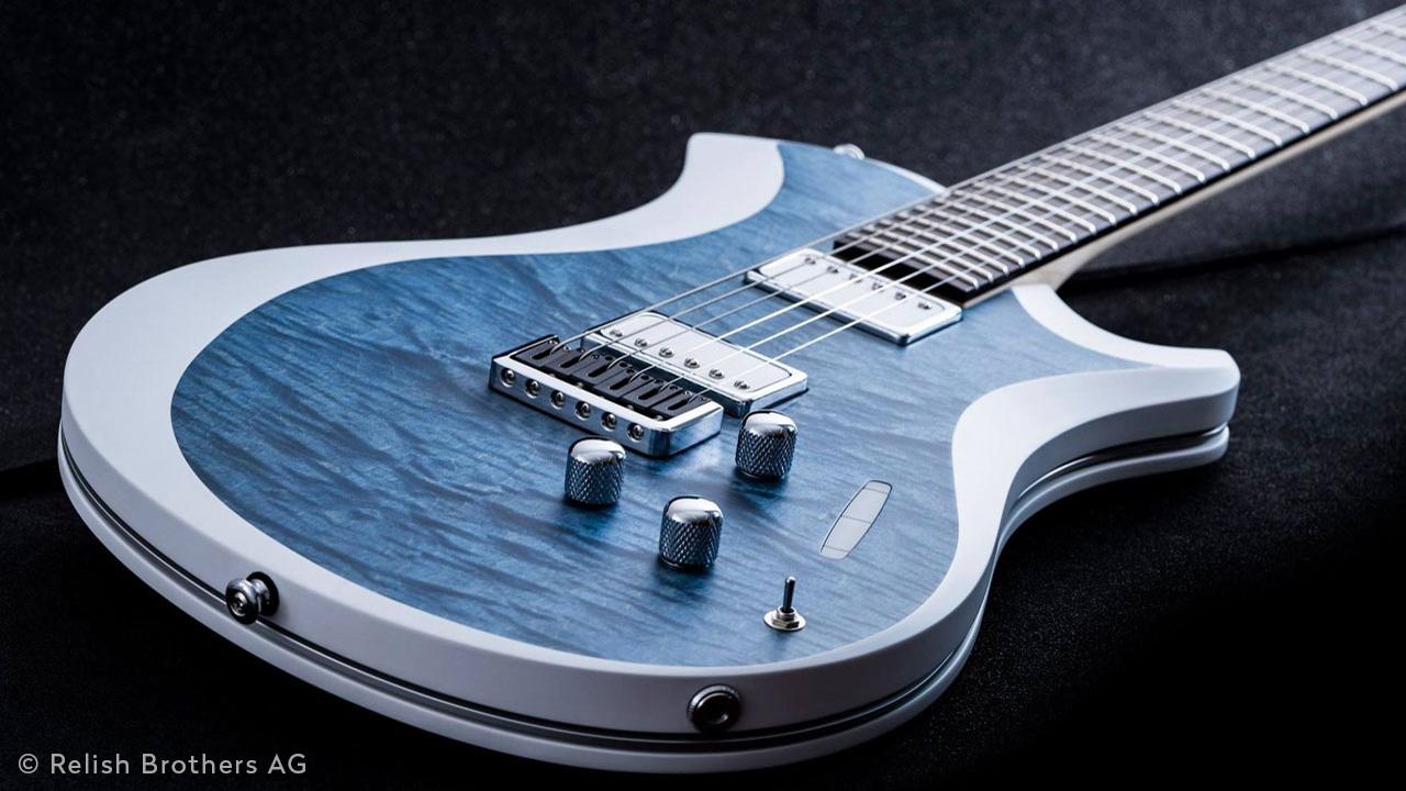 Innovative E-Gitarre Mary von Relish Guitars Switzerland