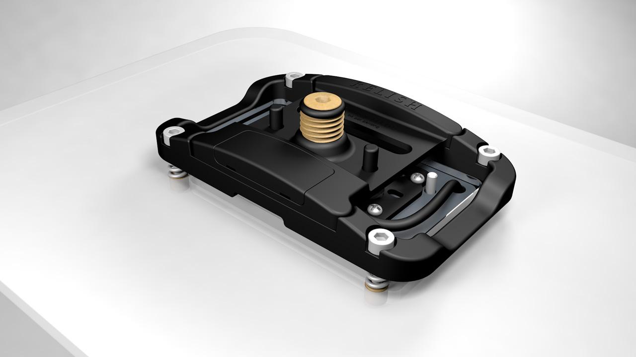 Relish Guitars Switzerland Pickup Swapping System. Innovative e-gitarre.