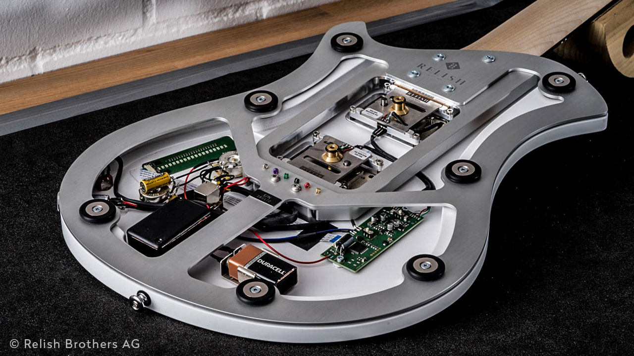 Relish Guitars Switzerland innovative Sandwich Konstruktion